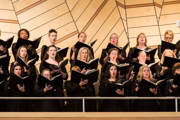 The Colorado Symphony Orchestra Chorus will perform Sunday in the Aspen Music Festival production of