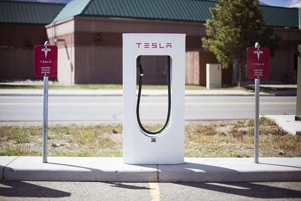 Aside from the Tesla stations in Silverthorne, there area also public electric vehicle chargers at Breckenridge Town Hall and the Basecamp Retail Center/Whole Foods parking lot in Frisco. The county is looking to add more at the future redeveloped Frisco Transit Center as well.