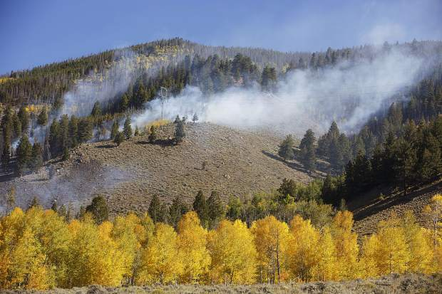 Tenderfoot2 Fire Tuesday, Sept. 19, in Dillon.