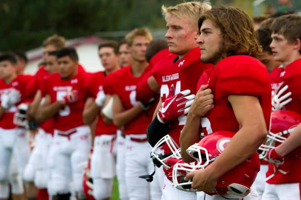Scenes from the Glenwood Springs Demons Friday night match-up against the Kennedy High Commanders.