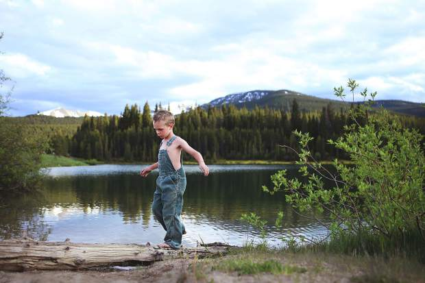 April Enzer of Carbondale took this picture of her son Memphis at Twin Meadows near Norrie for third place in th PI's Summer Fun photo contest, winning a $100 gift card from Summit Canyon Mountaineering.
