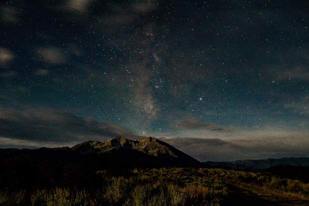 Dylan Gressett of Carbondale is the grand prize winner of the Post Independent's 2017 Summer Fun photo contest. His shot of Mount Sopris under the night sky during the Perseid meteor shower in August wins him a $500 gift card from Summit Canyon Mountaineering in Glenwood.