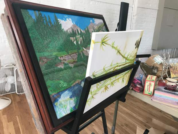 Several works of art are available for purchase during this weekend's Glenwood Springs Center for the Arts sale.