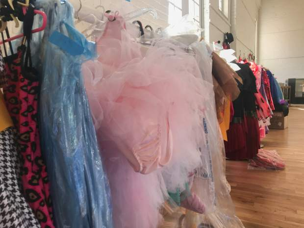 Glenwood Springs Center for the Arts is selling dance costumes used throughout the years. The costumes are marked down to a quarter of their original purchase prices.
