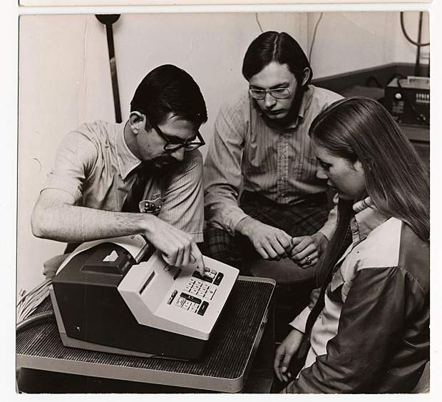 During the 1970s, Colorado Mountain College's Glenwood Center offered workshops in accounting and customer service to improve job skills among local working adults. This was the same era that CMC's typing classes — on typewriters, not computers — were a popular way to learn keyboarding.