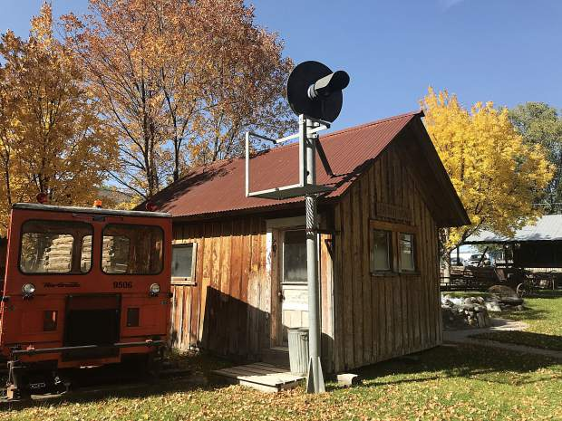 Silt Historical Park is set up to resemble an old mining town, with a variety of buildings that offer a look at life in such a setting.