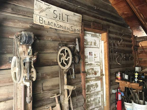 Live demonstrations take place at the blacksmith shop at Silt Historical Park. Visit the organization's website for upcoming events.