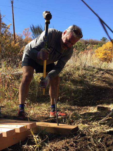 147 volunteers took 650 hours to finish the 2.9 mile stretch of the Prince Creek Trail as part of this year's public projects for Roaring Fork Outdoor Volunteers.