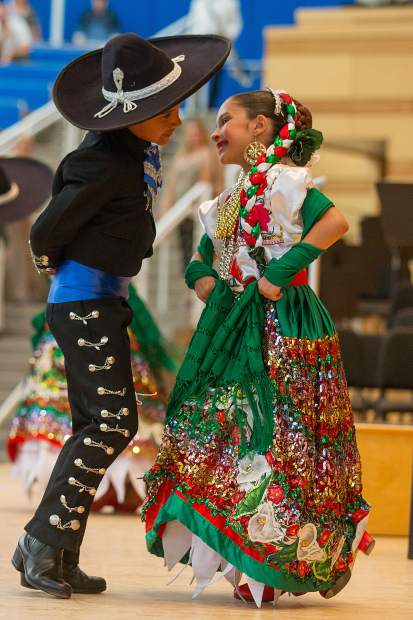 The Dia de los Muertos celebration in Carbondale includes dancers from Aspen Sante Fe Ballet Folklorico.