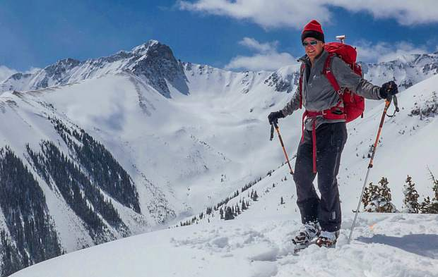 John Fielder, pictured, and Jon Kedrowski have a half-century of skiing and exploring experience between them.