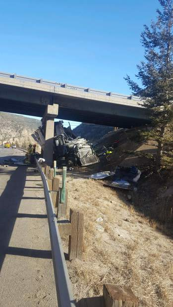 A fatal semi crash near Empire Junction on Interstate 70 wreaked havoc on mountain traffic Tuesday afternoon.
