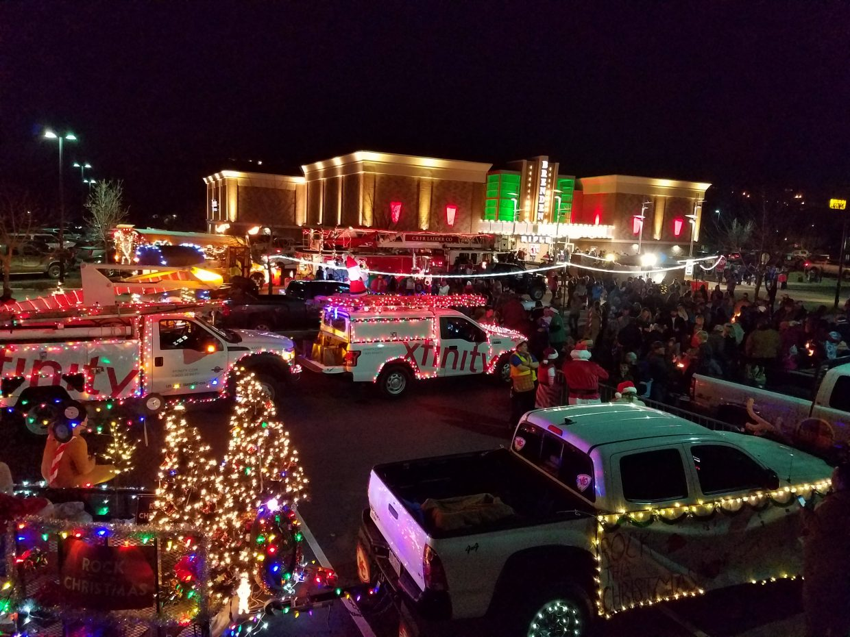 Rifle celebrated Hometown Holidays over the weekend. The festivities included tree lighting, ornament and the Parade of Lights filled with dozens of displays from locals.
