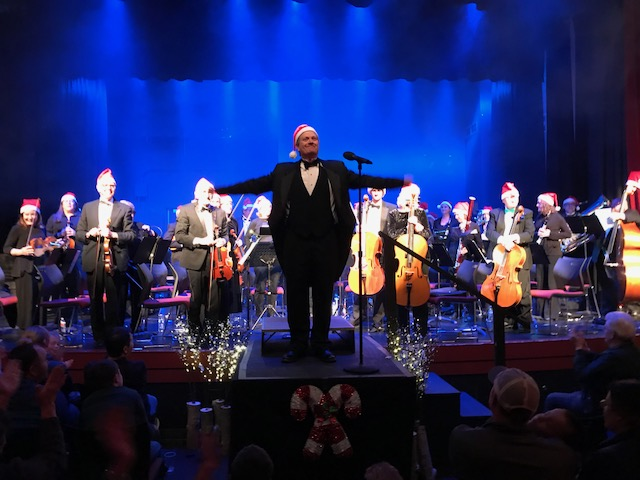 Conductor Kelly Thompson and the rest of Symphony in the Valley received two standing ovations during their performance at the Ute Theater on Friday.
