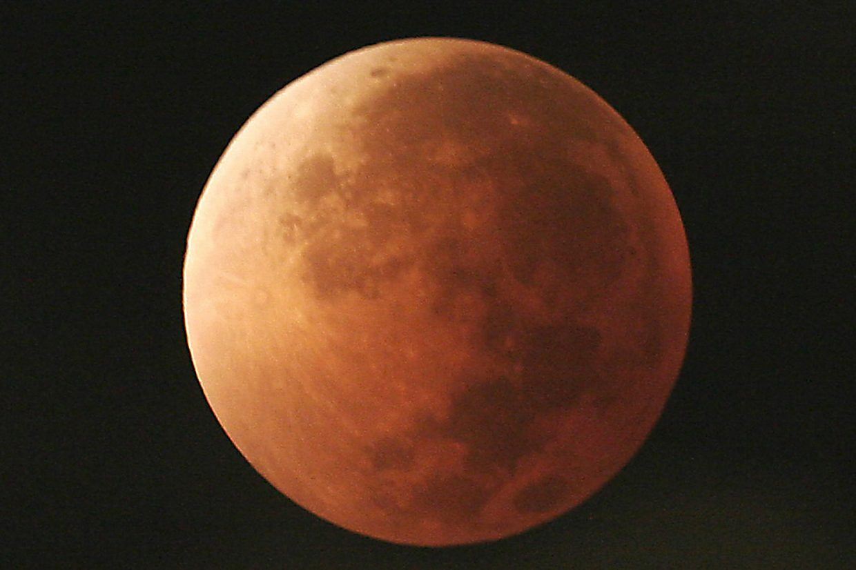 When To See The Supermoon Eclipse In Colorado Postindependent Com