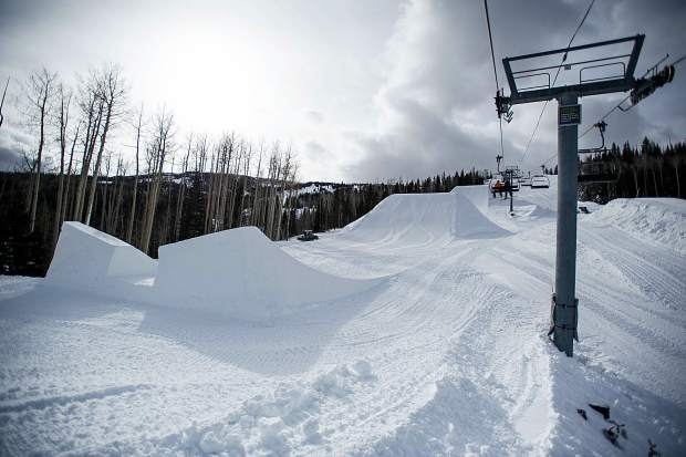 The U.S. Grand Prix set up this Saturday in Snowmass for the upcoming event this week.
