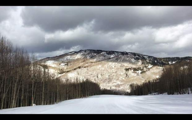 The view from the Ute ski run at Sunlight Mountain Resort.