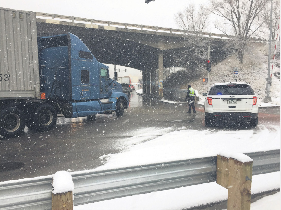 Much-needed snow cause for celebration, highway woes