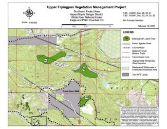 Fryingpan residents challenge forest service logging project in federal court