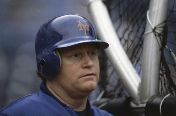 FILE - This is a July 12, 1984, file photo showing New York Mets baseball player Rusty Staub in New York. Staub, who became a huge hit with baseball fans in two countries during an All-Star career that spanned 23 major league seasons, died Thursday, March 29, 2018, in Florida. He was 73.(AP Photo/File)