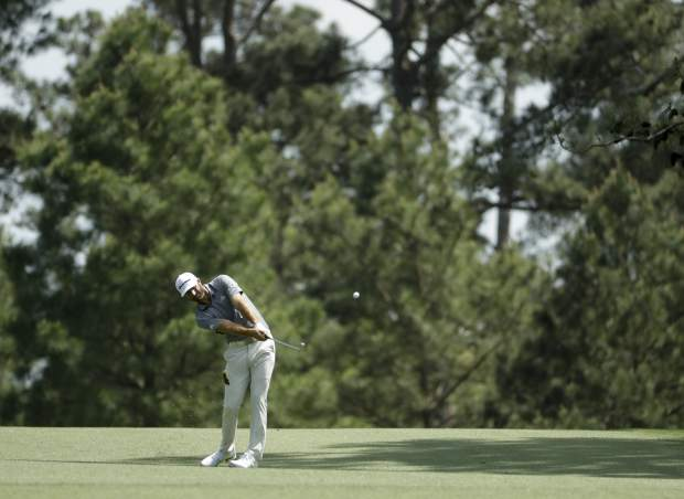 Johnson\'s goal at this Masters is to get to the 1st tee ...