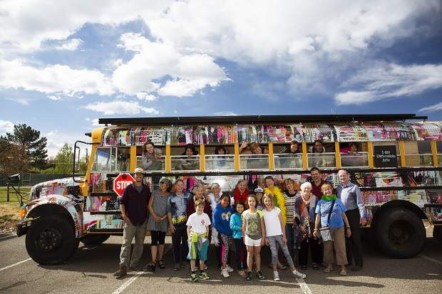 Rosybelle, Carbondale Arts' mobile makerspace, offers a variety of programming for youth. The bus has also entertained adults at events including First Fridays.