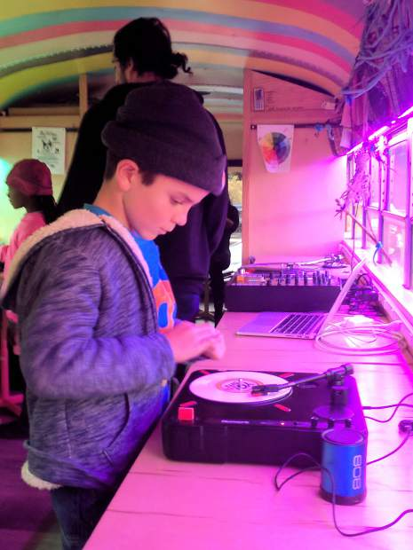 An October partnership with the Bohemian Foundation and the Take Note Colorado Music Initiative offered beats lab music editing workshops. The partnership left Rosybelle with several turntables, which will continue to be part of music editing programs.
