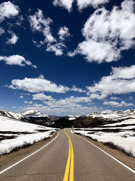 Independence Pass file photo.