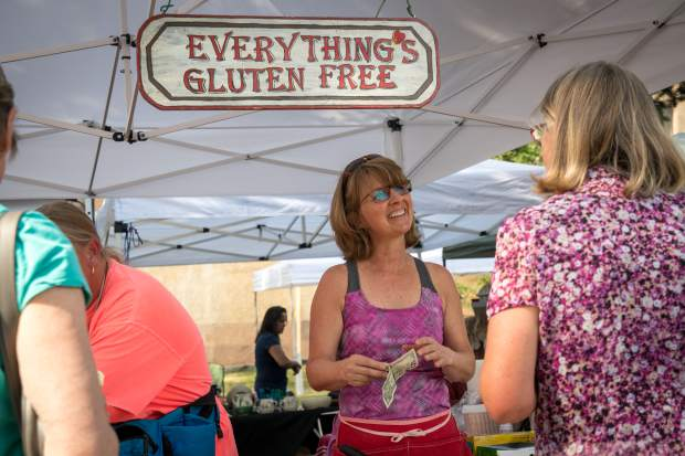 The annual Glenwood Springs Downtown Market kicked off Tuesday night in Centennial Park and will continue to take place every Tuesday evening from 4 p.m. till dusk.