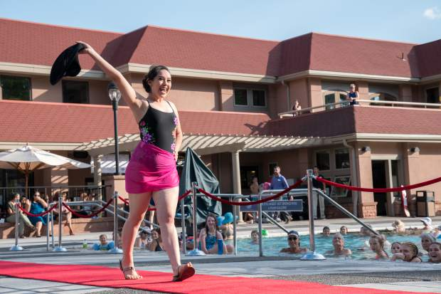 Scenes from the 2018 Miss Strawberry Days Fashion Show at the Glenwood Hot Springs pool on Thursday evening.