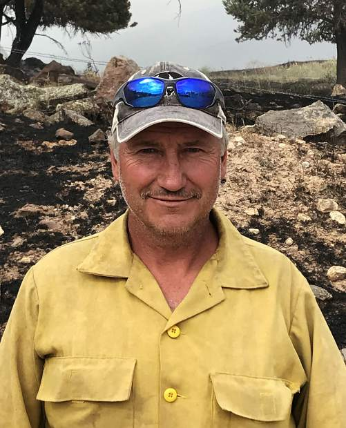 Basalt Firefighter Didn't Let Loss Of House Faze Him While