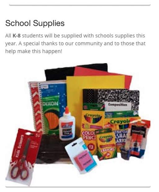 Garfield 16 School District Provides School Supplies For Students