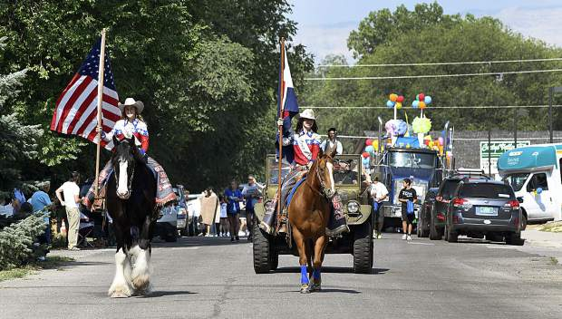 49th annual HeyDays Parade Saturday in Silt.