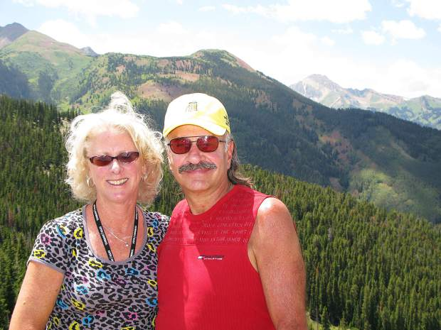 The Hatfields on Aspen Mountain. Jack provided an unwavering voice for wildlife and the environment while serving on the Snowmass Village Town Council and board of Pitkin County Commissioners.