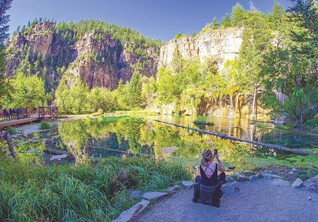 Permit Reservations To Hike Hanging Lake In Glenwood Canyon Open