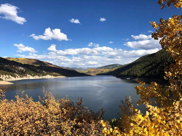 Post Independent reader Alan Torres captured this shot of Ruedi Reservoir high in the Fryingpan Valley above Basalt earlier this week. Fall colors are starting to pop all around the area, making for some prime leaf-peeping this weekend.