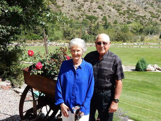 Judy and Jerry Gerbaz celebrated their 60th wedding anniversary this summer. They were married June 14, 1958, at St. Mary's Catholic Church in Aspen.