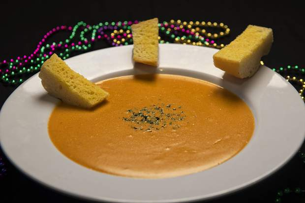 The Lost Cajun's lobster bisque is shown in this image provided by the company.