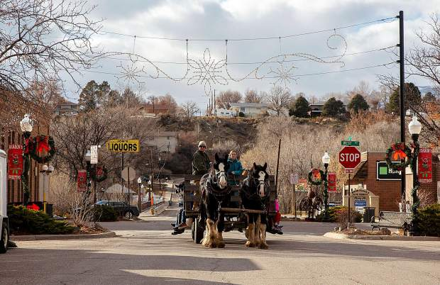 Rifle welcomed in the holidays last weekend with its 5th annual Hometown Holidays event all-weekend long in downtown Rifle. Activities included performances at the Ute Theater, fireworks, a parade and more.