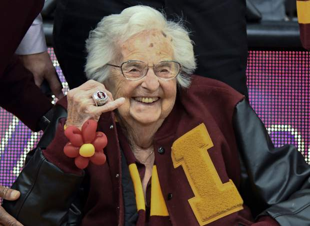 Every time little Loyola of Chicago sprung another upset on its improbably run to the Final Four, Sister Jean Delores Schmidt was there to talk about the Ramblers.