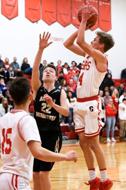 Glenwood Springs senior Mitchell Burt, shown in action last season, returns for the Demons as they begin the 2019-20 campaign at the Grand Junction Warrior Challenge this weekend.