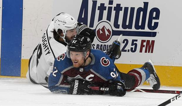 Avalanche Tie Franchise Record With Six Goals In Second Period Rout