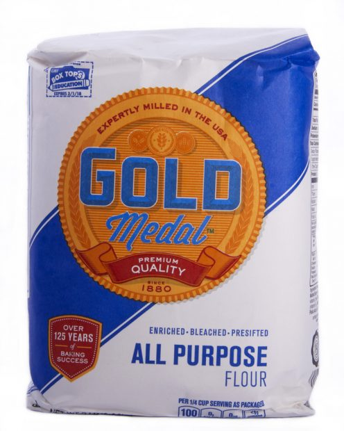 Gold Medal Five Pound Bags Of Flour Recalled Could Have Salmonella