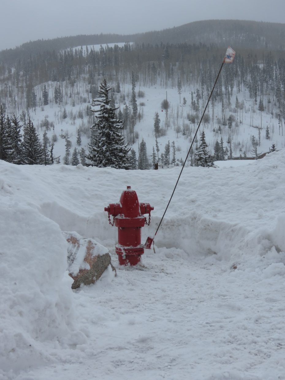 Officials remind community to keep fire hydrants clear of snow