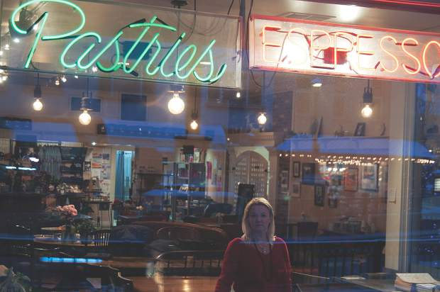 Susan Thomas, co-owner of the Bluebird Cafe in downtown Glenwood Springs.