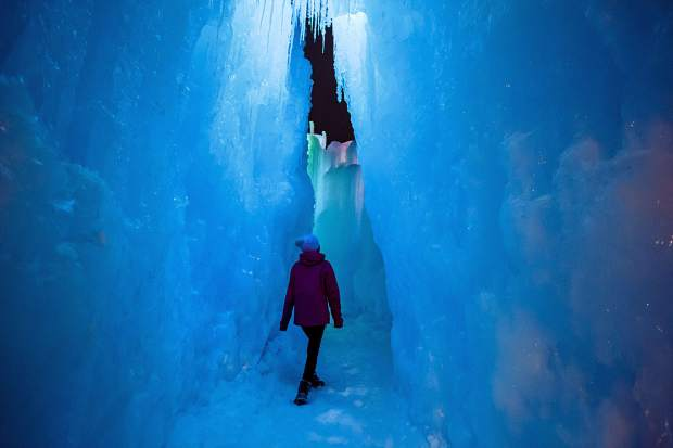 Dillon Ice Castles to close March 9