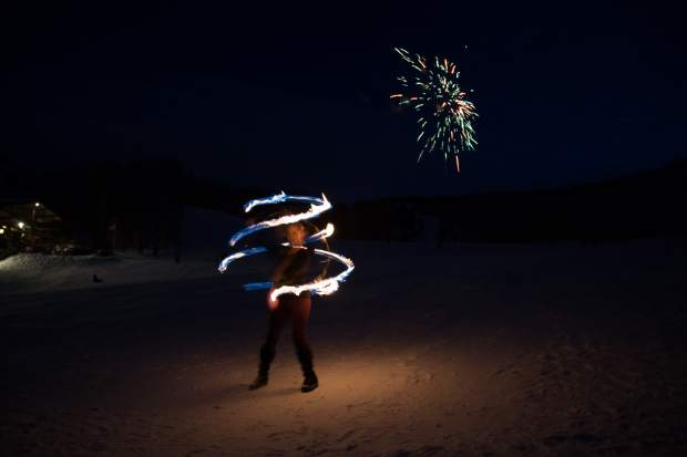Sunlight Resort celebrated its 50th anniversary in 2017 as part of Ski Spree, with a performance by two fire dancers, while skiers and snowboarders trail down the mountain with fire torches.