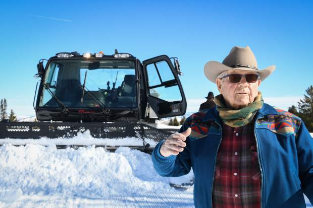 Ernie Gianinetti talks about what it takes to maintain hundreds of miles of trails for snowmobilers and other users on a volunteer basis.