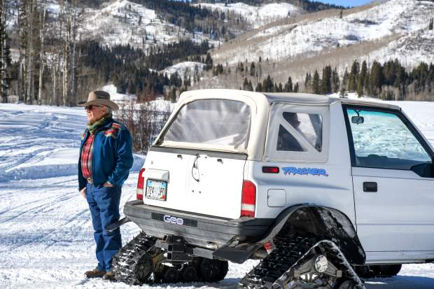 Ernie Gianinetti has been a member of the Mt. Sopris Rec Riders since the early 1980s.