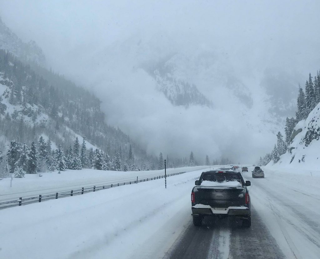 Avalanche danger high in Colorado mountains after I-70 slide