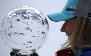 Shiffrin wins giant slalom race to cap off historic World Cup season